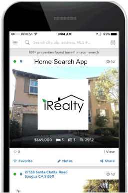 irealty mobile app screenshot